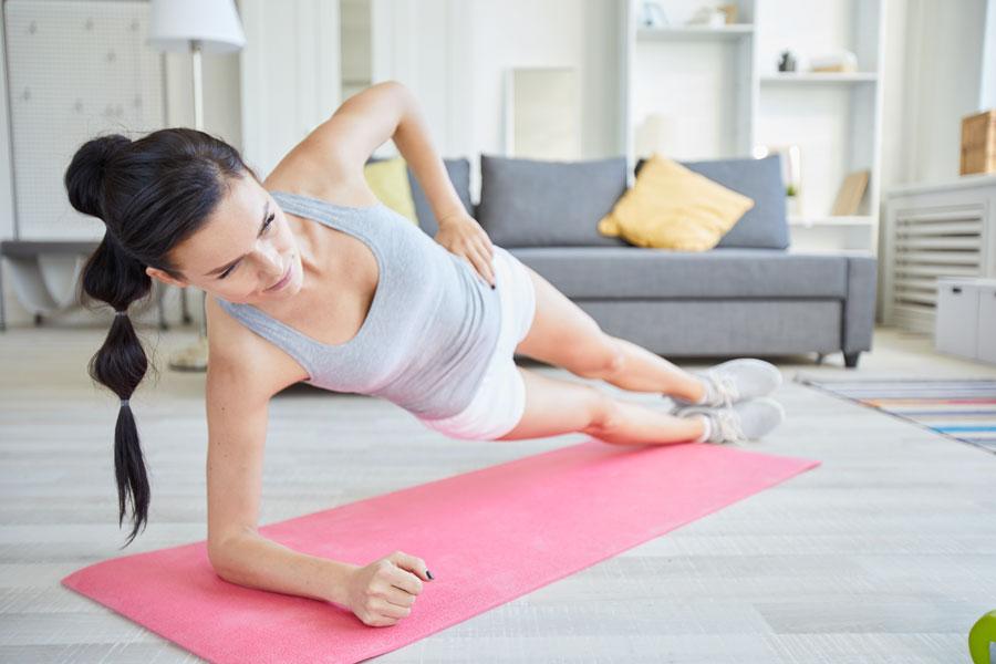 attrezzi per allenarsi in casa