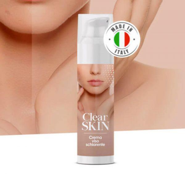 clear skin crema viso