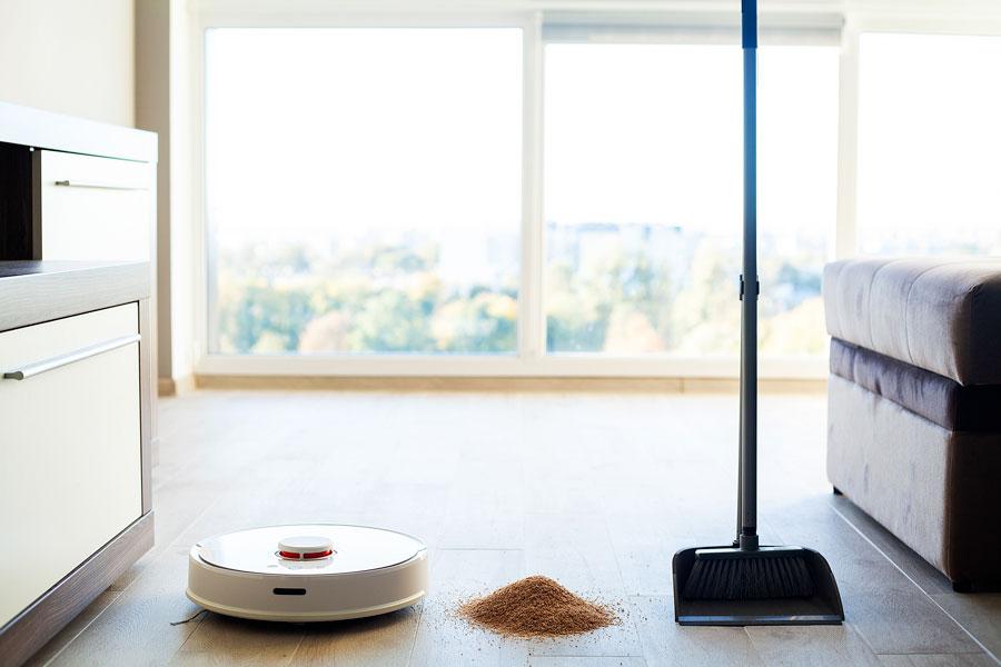 x sweepup robot aspirapolvere