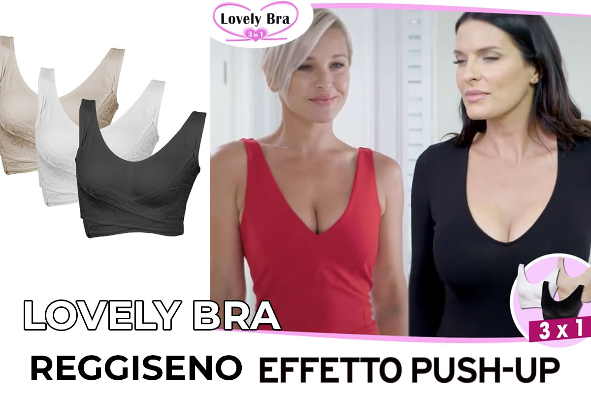 lovely bra reggiseno