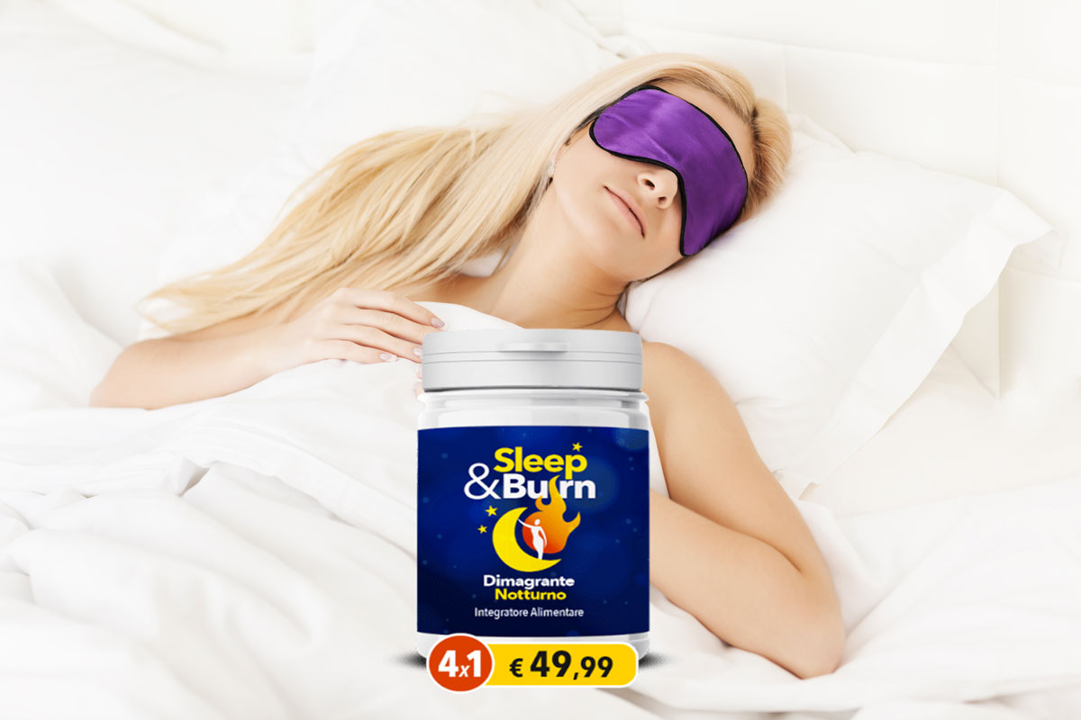 sleep e burn integratore dimagrante